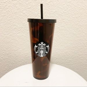 Starbuck Tortoise Shell Acrylic Cold VentiTumbler